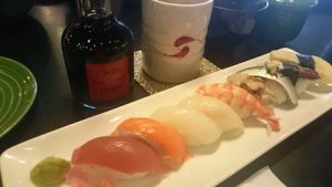 握り寿司@The shushi bar