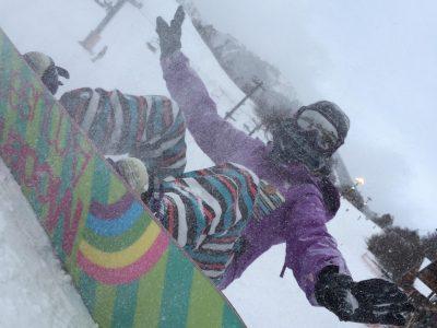 スノーボードに行きました