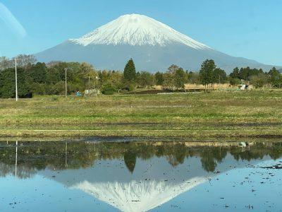 6月の富士山の変遷