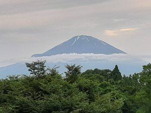 6月23日の富士山