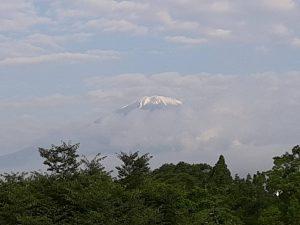 6月24日の富士山
