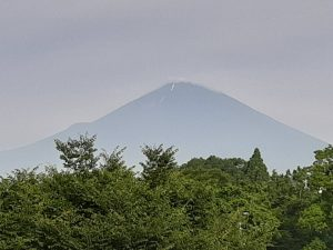 雪のなくなった富士山21.7.12